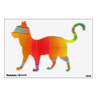 Hall of Information Abstract Wall Sticker