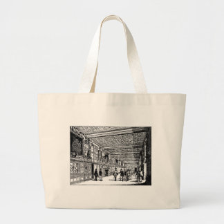 Hall of knowledge canvas bags
