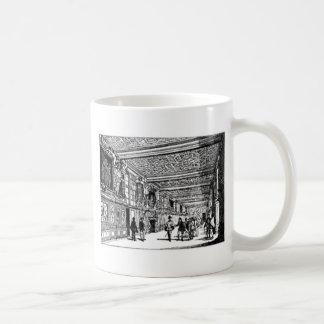 Hall of knowledge classic white coffee mug