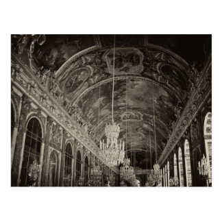 Hall of Mirrors Château Versailles 2 Post Card