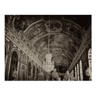 Hall of Mirrors, Château Versailles 2 Postcard