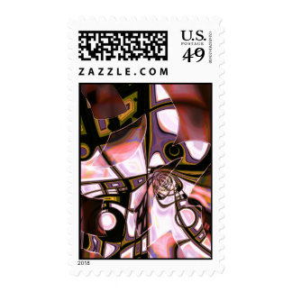 Hall of Mirrors Postage Stamps