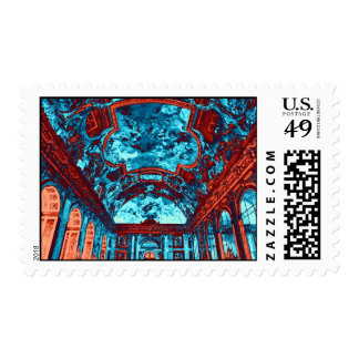 Hall of Mirrors, Versailles, France Postage Stamp