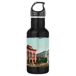 Hall Of Records Vintage California Water Bottle
