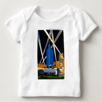 Hall of Science, Chicago World's Fair Baby T-Shirt