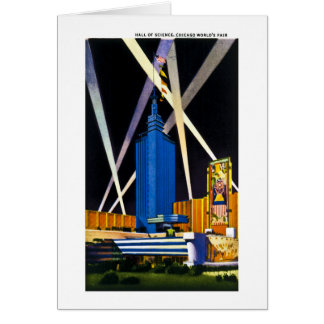 Hall of Science, Chicago World's Fair Card