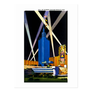 Hall of Science, Chicago World's Fair Postcard