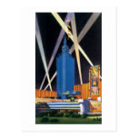 Hall of Science, Chicago Worlds Fair Postcard