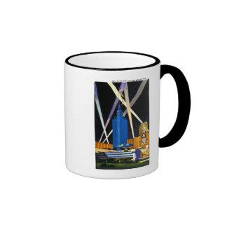 Hall of Science, Chicago World's Fair Ringer Coffee Mug