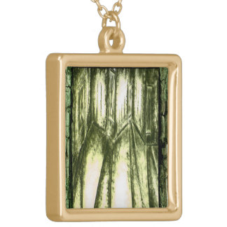 Hall of Souls Gold Plated Necklace
