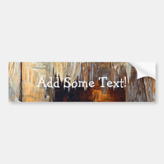 Hall of the Ancient Spirits Mystical Cave Scene Bumper Sticker