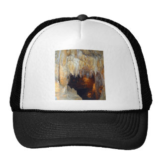 Hall of the Ancient Spirits Mystical Cave Scene Trucker Hat