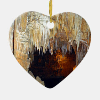 Hall of the Ancient Spirits Mystical Cave Scene Christmas Ornament
