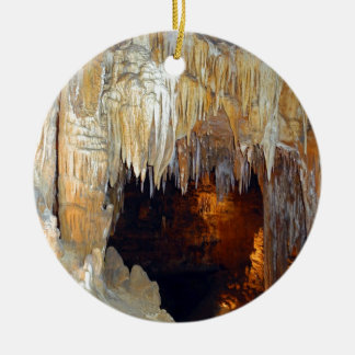 Hall of the Ancient Spirits Mystical Cave Scene Christmas Tree Ornaments