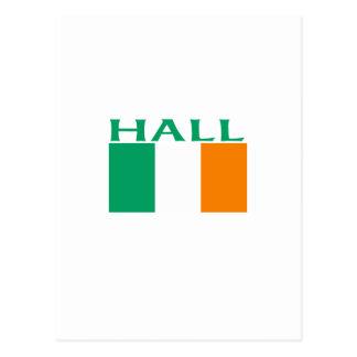 Hall Postcard