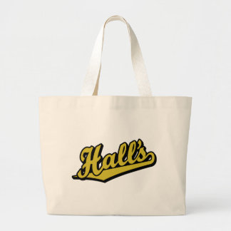 Hall s in Gold Canvas Bag