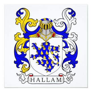Hallam Coat of Arms I Card