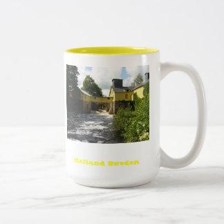 Halland Sweden Two-Tone Coffee Mug