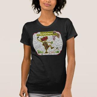 Hallazgo de la caza de la piel de Geocachnig T Shirt