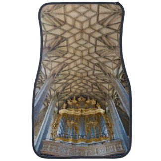 Halle Marktkirche organ and ceiling Car Mat