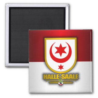 Halle-Saale 2 Inch Square Magnet