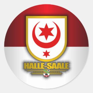 Halle-Saale Classic Round Sticker