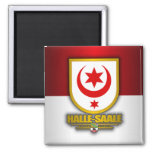 Halle-Saale Fridge Magnet