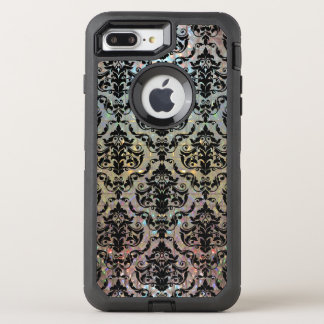 Halleesham Pretty Damask Pattern Protective OtterBox Defender iPhone 8 Plus/7 Plus Case