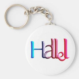 Hallel.png Keychain