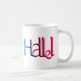 Hallel.png Taza Básica Blanca