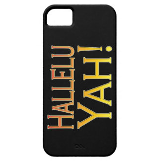 ¡Hallelu Yah! (oro) iPhone 5 Case-Mate Protectores