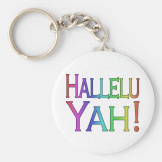 Hallelu Yah! (rainbow) Key Chains