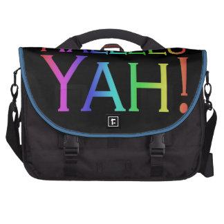 Hallelu Yah! (rainbow) Laptop Commuter Bag