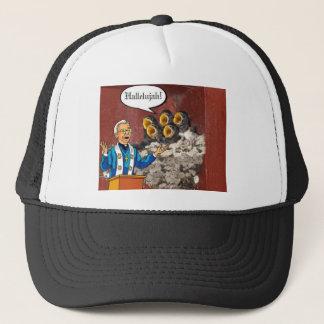Hallelujah! Bird choir singing the Lord's praises Trucker Hat