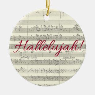 Hallelujah Christmas Ornament