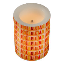 Hallelujah Flameless Candle