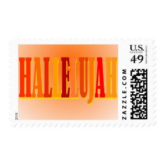 Hallelujah Postage Stamp