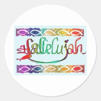 hallelujahFISH jpg Sticker