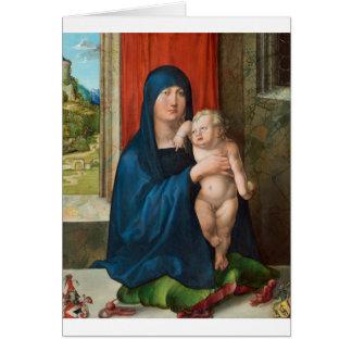 Haller Madonna (Madonna and Child) by Durer Card