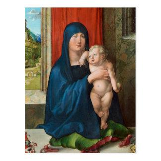 Haller Madonna (Madonna and Child) by Durer Postcard