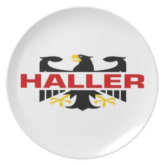 Haller Surname Plate