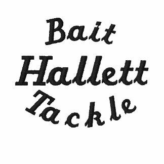 Hallett Bait & Tackle Embroidered Shirt
