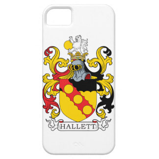 Hallett Family Crest iPhone 5/5S Covers