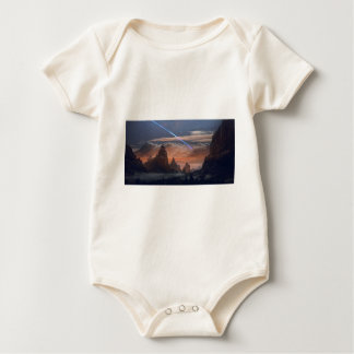 Halley's Comet Baby Bodysuit