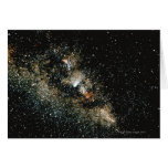 Halleys Comet  in the Milky Way Cards