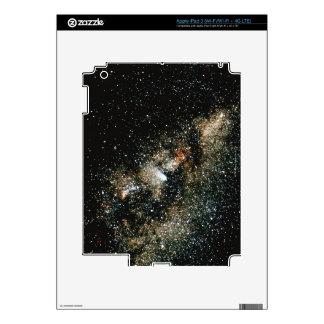 Halleys Comet  in the Milky Way iPad 3 Decals