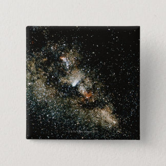 Halleys Comet  in the Milky Way Pinback Button