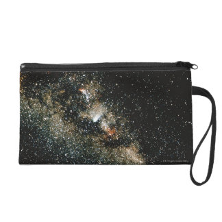 Halleys Comet  in the Milky Way Wristlet Purse