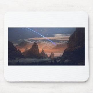 Halley's Comet Mouse Pad