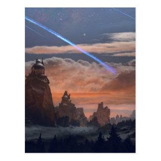 Halley's Comet Postcard